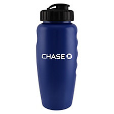 Metallic Gripper Sport Bottle - 28 oz. - Chase