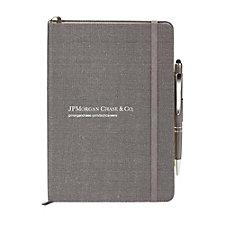 Linen Journal and Pen Combo - JPMC Recruitment