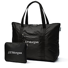 cFold Expandable Bag - 16 in. x 20 in. x 7 in. - J.P. Morgan