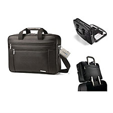 Samsonite Classic Business Computer Portfolio and Luggage Tag - Chase Business Banking