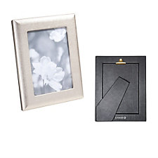Metallic Leather Studio Frame - 5 in. x 7 in. - Chase Business Banking