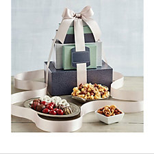 Harry & David Deluxe Premium Delights Gift Tower - Chase Business Banking