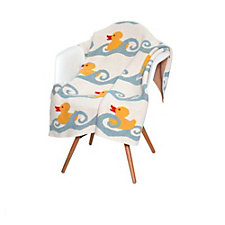 Eco Baby Duck Throw - Chase Business Banking