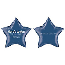Star Microfoil Balloons - 20 in. - Pack of 50 - JPMC - EAW