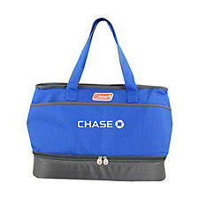 Coleman Dual Compartment Cooler - 13 in. H x 19 in. W x 10 in. D - Chase