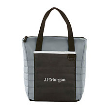 Quilted 12-Can Lunch Cooler - J.P. Morgan