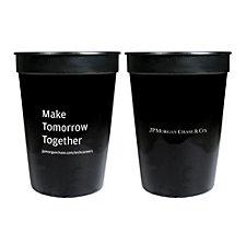 Plastic Stadium Cup - 12 oz. - JPMC Recruitment