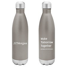 h2go Force Stainless Steel Water Bottle - 26 oz. - J.P. Morgan Recruitment