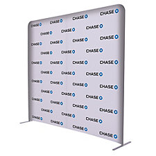 EuroFit Straight Wall Floor Display - 90 in. x 96 in. - Chase