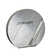 Bristol Award - 7.25 in. W x 6.75 in. H x 1.125 in. D - J.P. Morgan