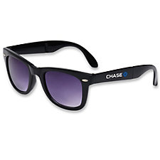 Folding Hipster Sunglasses - Chase