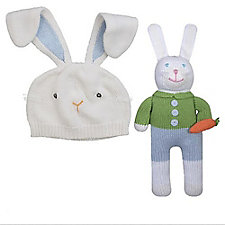 Zubels Bunny Hat & Toy Set - Chase Business Banking