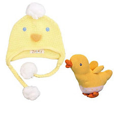 Zubels Duck Hat & Rattle Set - Chase Business Banking