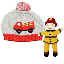 Zubels Firetruck Hat & Toy Set - Chase Business Banking
