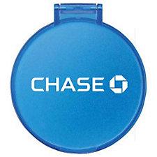 Glimmer Round Mirror - 2.375 in. - Chase