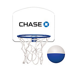 Micro Basketball Set - 6.375 in. x 5.25 in. x 0.125 in. - Chase