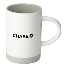 Lotus Two Tone Ceramic Mug - 15 oz. - Chase
