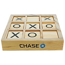 Wooden Tic Tac Toe Desktop Game - Chase