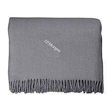 Acrylinc Throw Blanket - J.P. Morgan