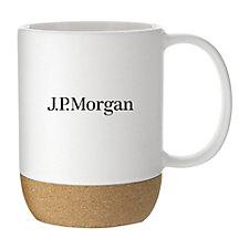 Beck Ceramic Mug - 13 oz. - J.P. Morgan