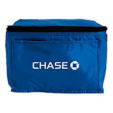 6 Can Cooler Bag - 8.5 in. x 6 in. x 6 in. - Chase