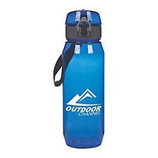 Trekker Tritan Plastic Water Bottle - 28 oz. - Chase / Auto