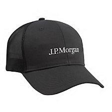 Clique Structured Mesh Back Hat - J.P. Morgan