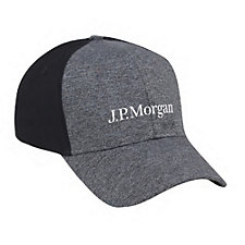 Heathered 2-Tone Hat - J.P. Morgan