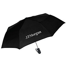 Promo Tote 2 Auto-Open Umbrella - 42 in. - J.P. Morgan