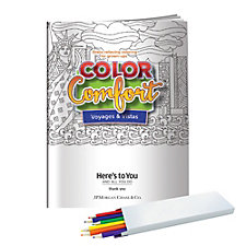 Voyages and Vistas Color Comfort Book with Colored Pencils - JPMC - EAW