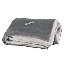 Faux Mink Sherpa Blanket - Chase