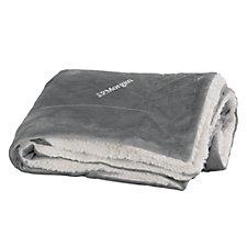 Faux Mink Sherpa Blanket - J.P. Morgan