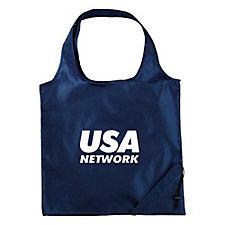 Bungalow Foldaway Shopper Tote Bag - Go Green