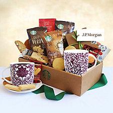 Classic Starbucks Gift Box - J.P. Morgan