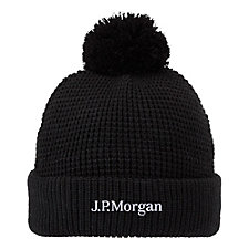 Vault Knit Toque Hat - J.P. Morgan