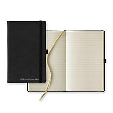 Calf Leather Medium Ivory Journal - 5.25 in. x 8.38 in. - JPMC