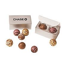 2 Piece Chocolate Truffle Box - Chase