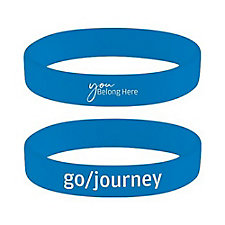 Silicone Wristband - You Belong Here