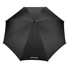 Recycled Auto Open Fashion Umbrella - 48 in. - J.P. Morgan