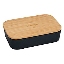 Bamboo Fiber Lunch Box with Cutting Board Lid - J.P. Morgan