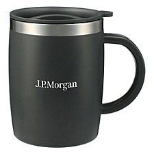 Dagon Wheat Straw Mug with Stainless Liner - 14 oz. - J.P. Morgan