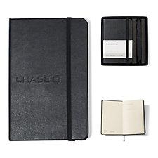 Moleskine Pocket Notebook and GO Pen Gift Set - Chase