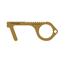 CleanKey Antimicrobial Brass Hand Tool - J.P. Morgan