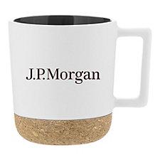 Iris Stoneware Mug - 12 oz. - J.P. Morgan