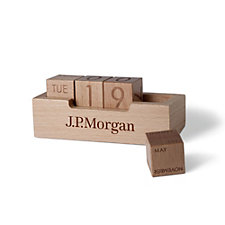 Everlasting Desk Calendar - J.P. Morgan