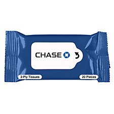 Personal Tissue Packet - 20 Tissues - Chase