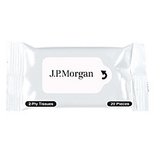 Personal Tissue Packet - 20 Tissues - J.P. Morgan