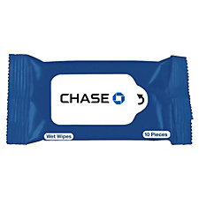 Wet Wipe Packet - 10 Wipes - Chase