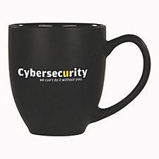 Kona Joe Ceramic Mug - 14 oz. - Cyber Security