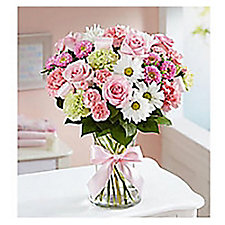 Sweet Baby Girl Floral Arrangement - Medium - Chase Business Banking